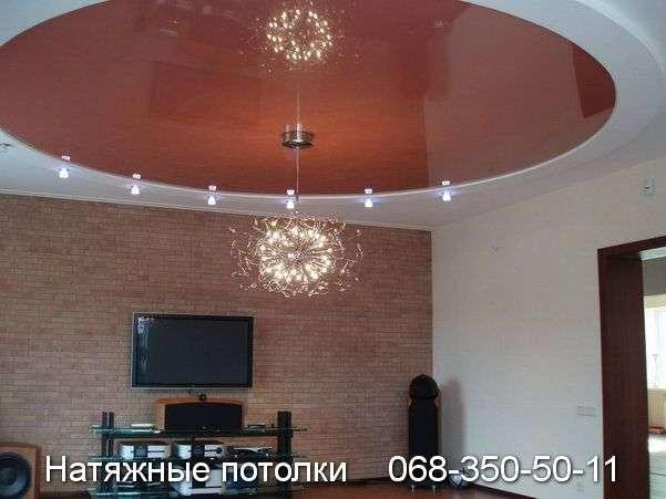 Многоуровневые натяжные потолки Кривой Рог (79)