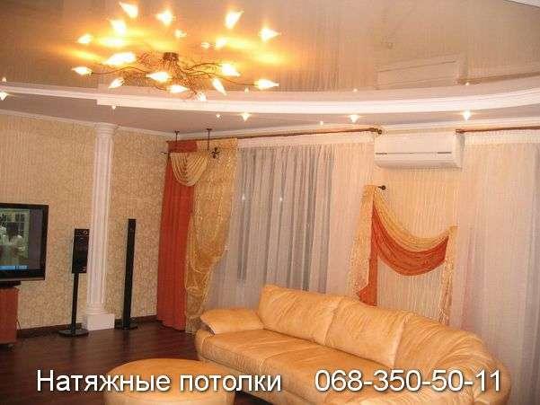 Многоуровневые натяжные потолки Кривой Рог (82)