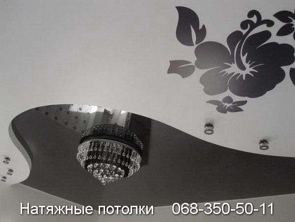 Многоуровневые натяжные потолки Кривой Рог (93)