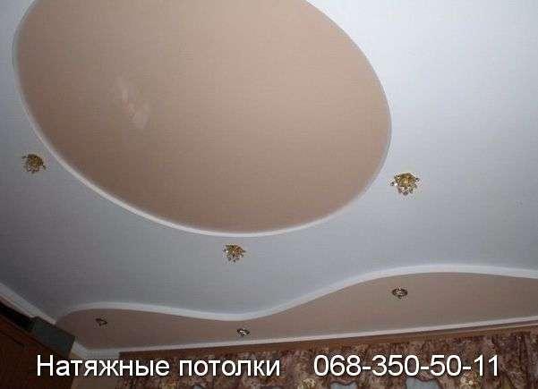 Многоуровневые натяжные потолки Кривой Рог (99)