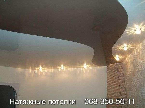 Натяжные потолки Спайка цветов