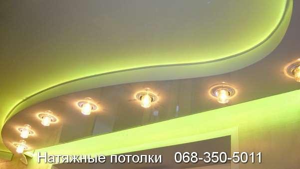 купить недорого плёночные и тканевые потолки в Кривом Роге