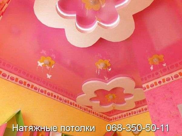 Натяжные потолки в детскую комнату Кривой Рог