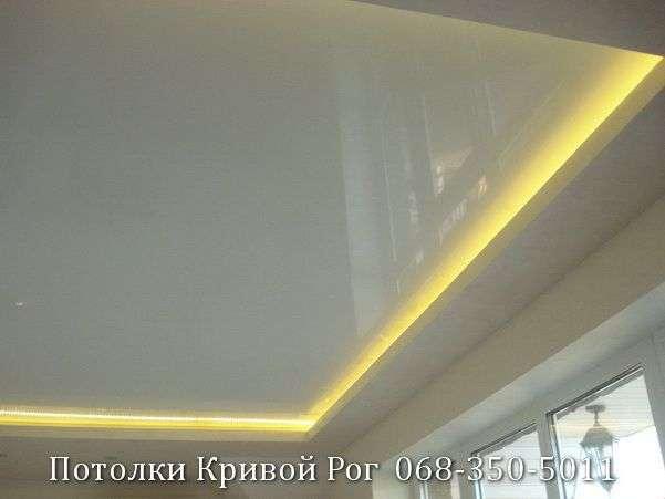 Натяжные потолки с подсветкой заказать в Кривом Роге (11)