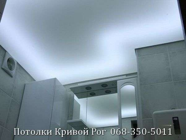 Натяжные потолки с подсветкой заказать в Кривом Роге (24)