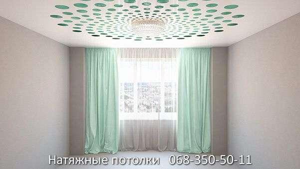 перфорированные резные натяжные потолки (17)