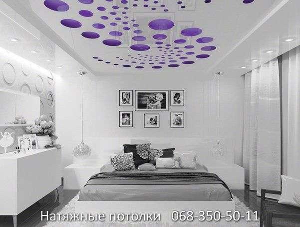 перфорированные резные натяжные потолки (26)