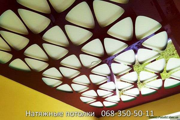 перфорированные резные натяжные потолки (35)