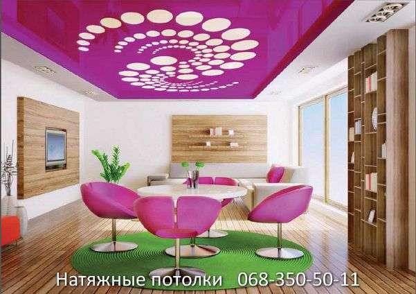 перфорированные резные натяжные потолки (76)