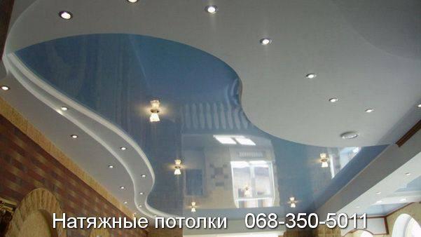 цены натяжные потолки кривой рог цены фото