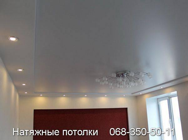 фото натяжные потолки кривой рог цены