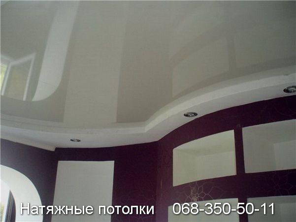 натяжной потолок цена за м2 с работой кривой рог