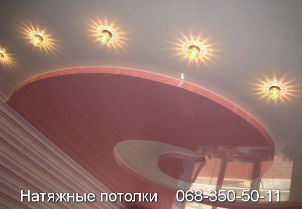 натяжные потолки кривой рог арт декор