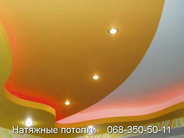 тканевые натяжные потолки кривой рог цена