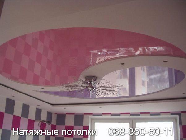 натяжной потолок фото кривой рог