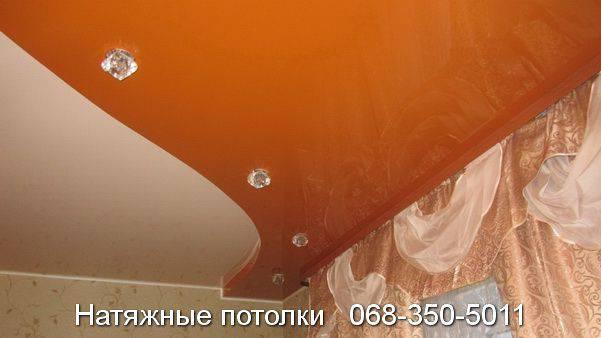 натяжные потолки с установкой кривой рог