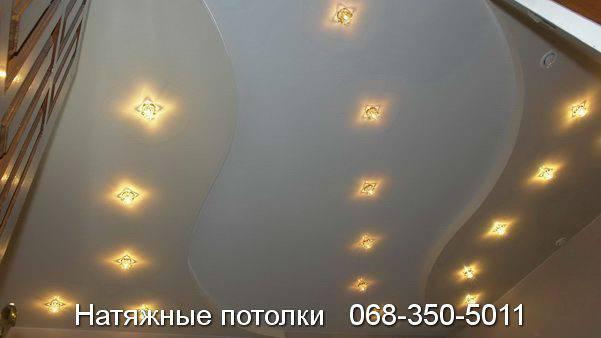 сколько стоит натяжной потолок в кривом роге