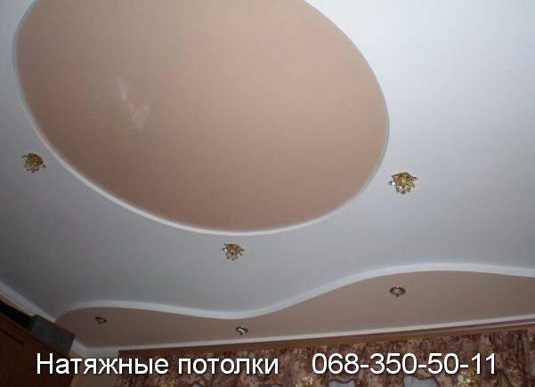 натяжные потолки кривой рог фото цена