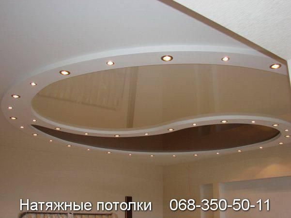 натяжные потолки цена кривой рог