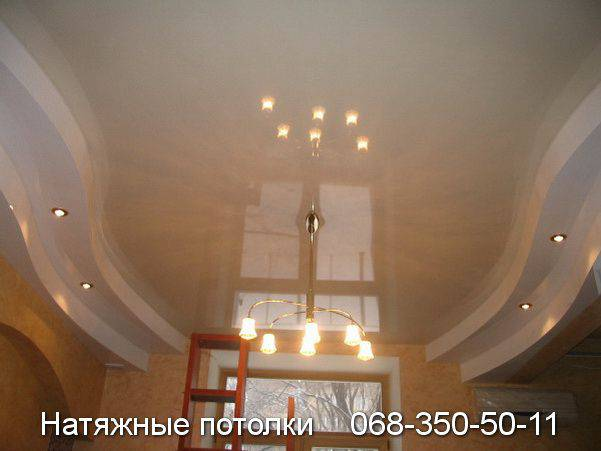 кривой рог цены на натяжные потолки