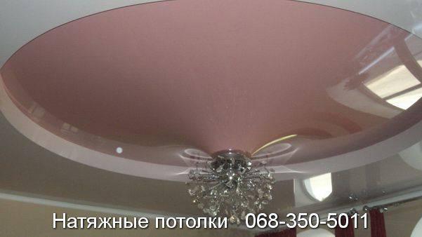 заказать двухуровневый натяжной потолок